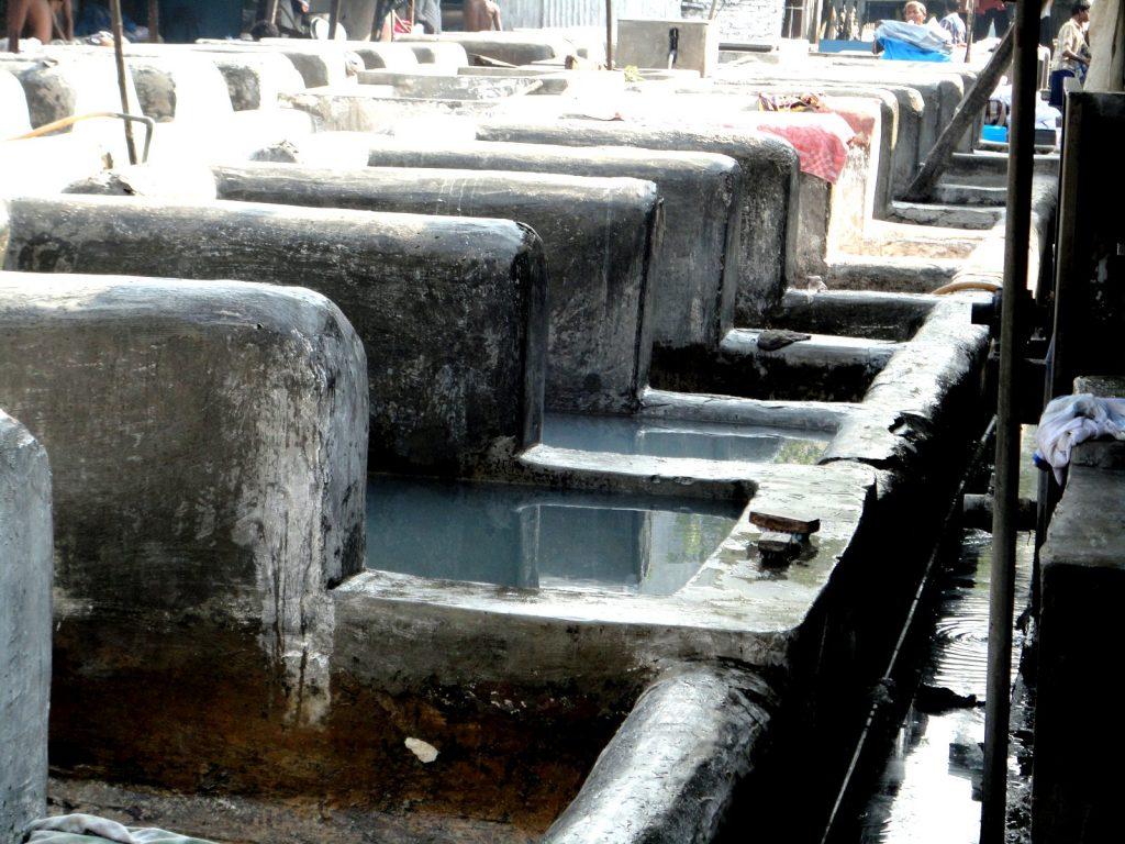 Washing Area in Dhobi Ghat