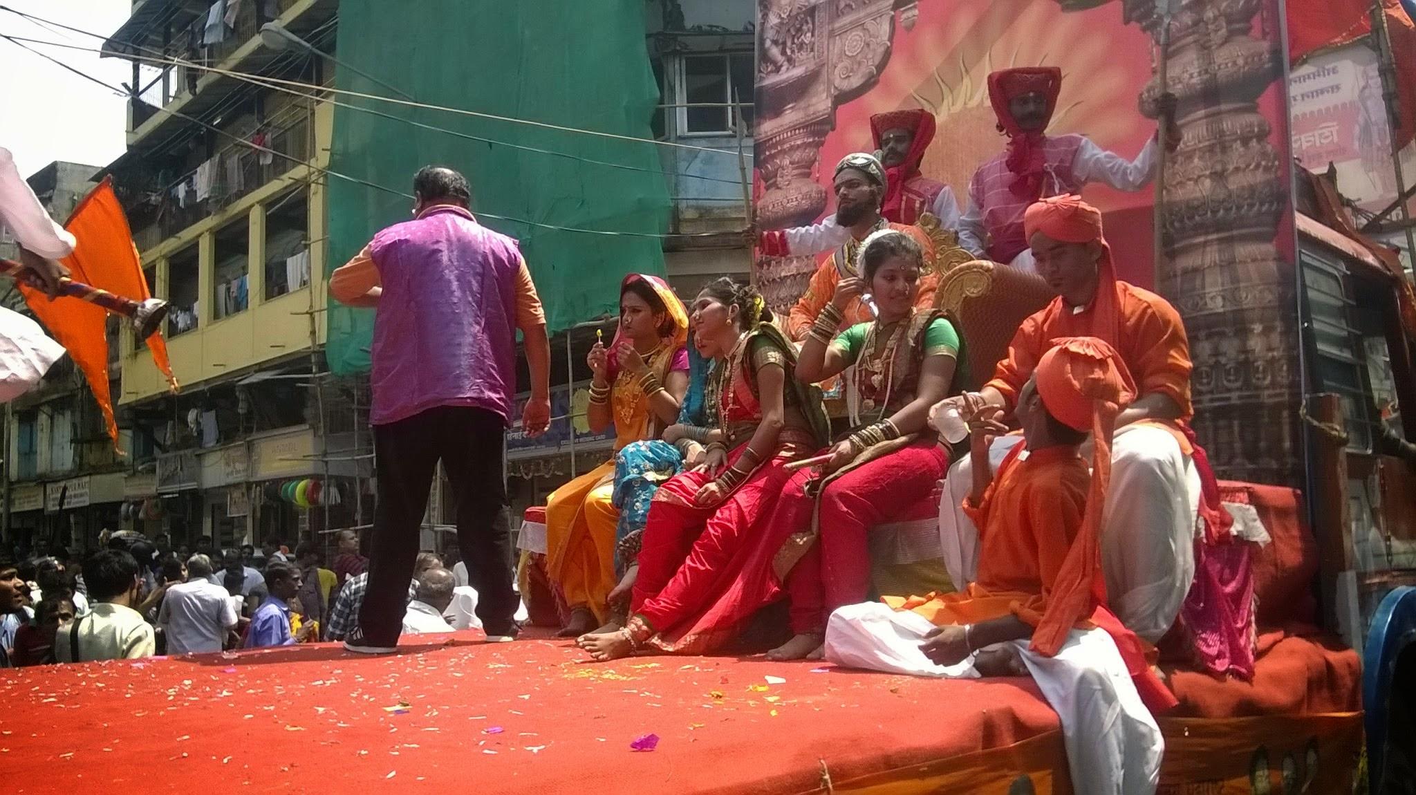 Gudi padva Procession