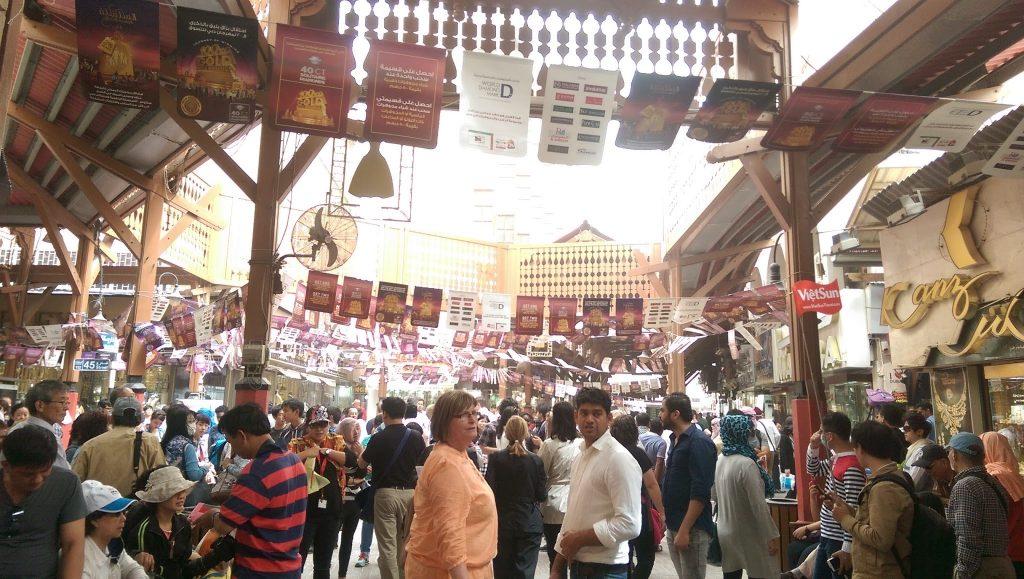 The Gold souk market, Dubai