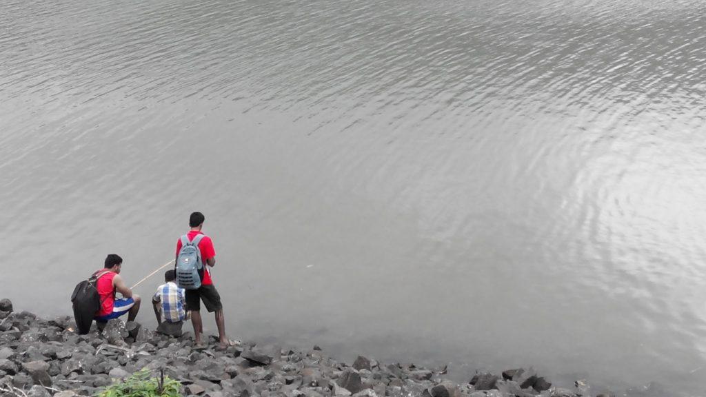 Fishing at Kelva Dam