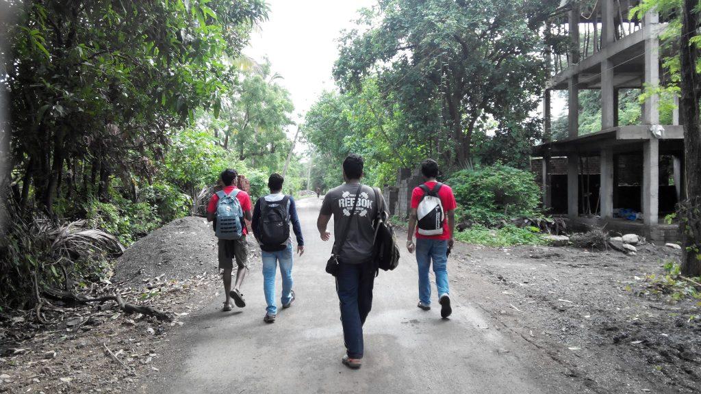 Walk to Kelva Dam