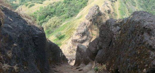 Harihar fort steps