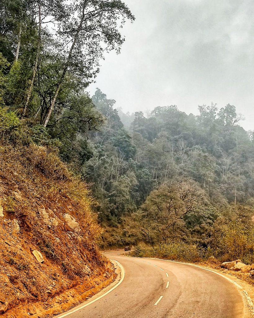 Road to Punakha