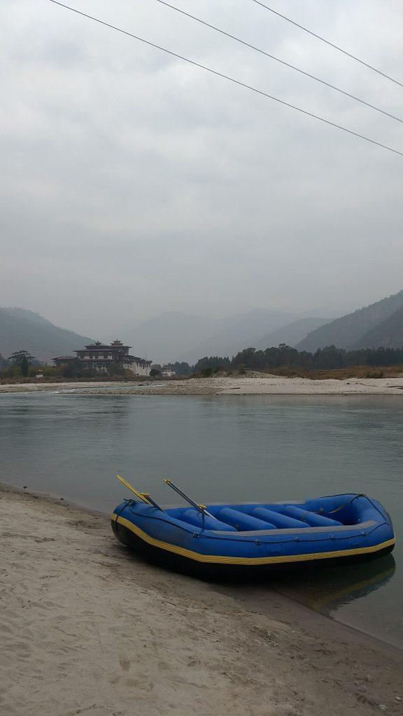 Rafting in Punakha