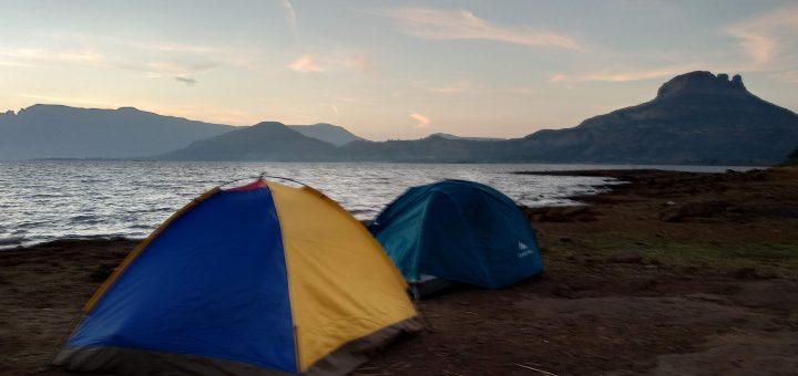 Lakeside camping tent Mumbai