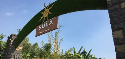 Sula Vineyards Entrance